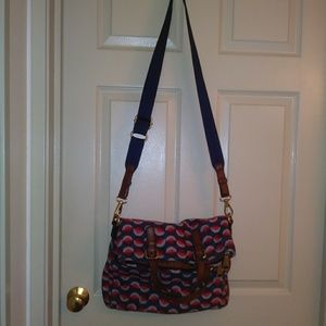 Fossil Bags - Fossil explorer multicolored purse. Cross body.